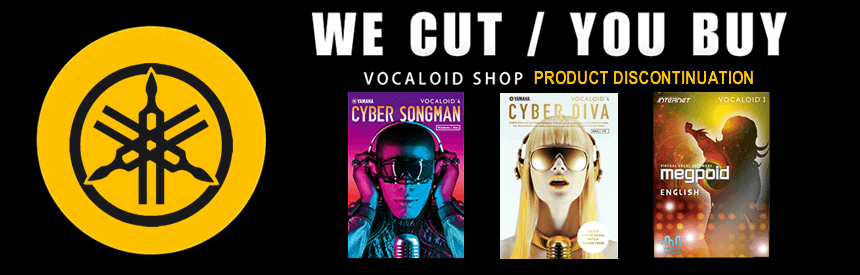 CYBER-series Product Discontinuation & Relaunch of Vocaloid.com