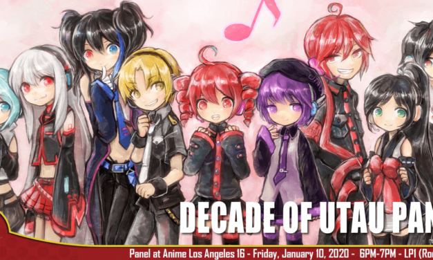 UTAU Retrospective: A Decade of Singing Robots Panel @ Anime Los Angeles 2020