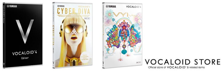VOCALOID4 & Cyber Diva Available, English VocaloidStore Updates
