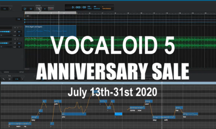 Vocaloid 5 2nd Anniversary Sale: ~15% Off For July 2020