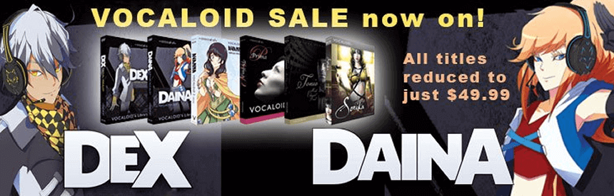 Sale: $49.99 for All Zero-G Vocaloid [Ends March 31]